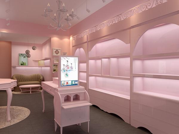 深圳海岸城佩妮化妆品展柜